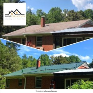 Metal Roof Installation in Wake Forest NC
